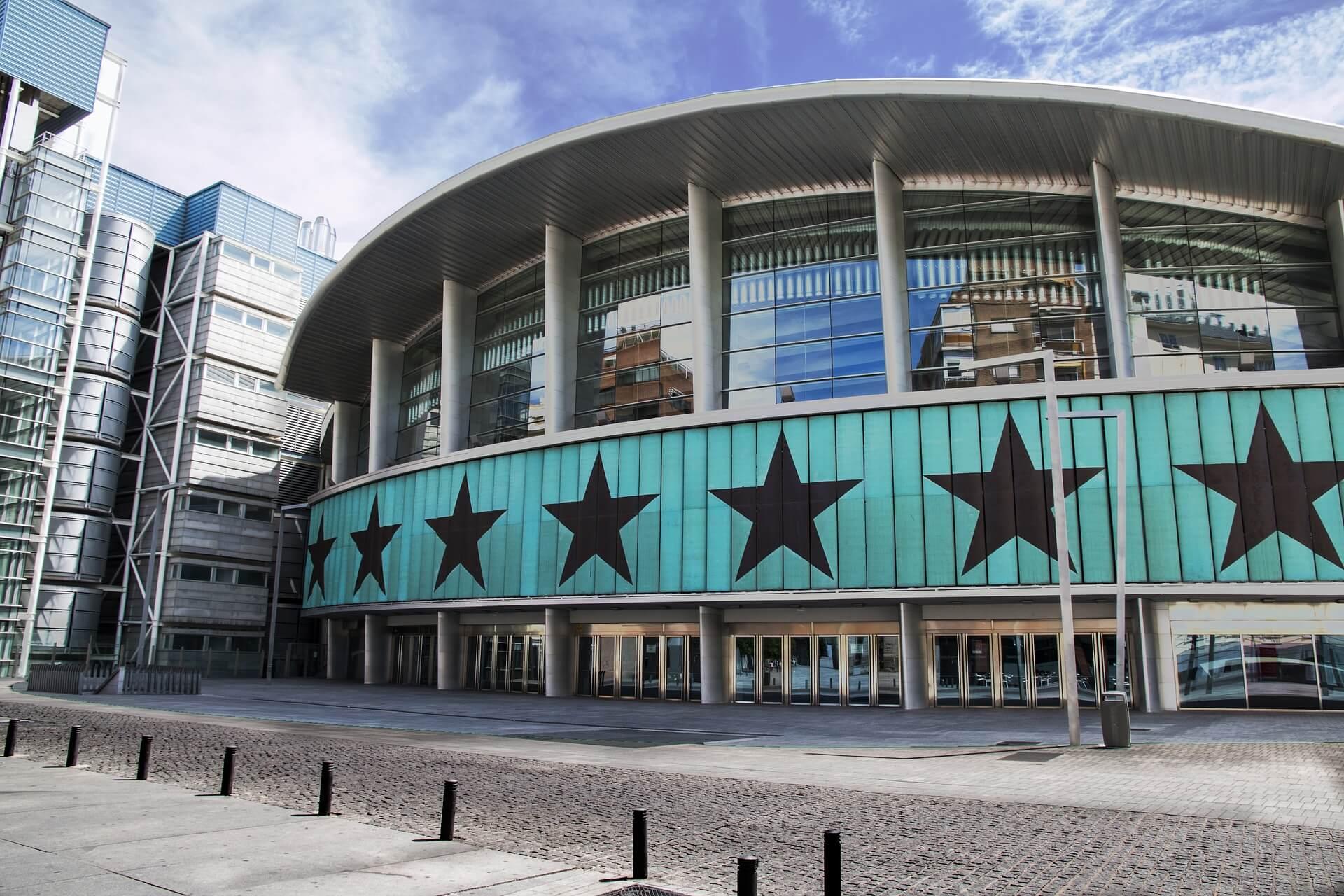 Palacio de los Deportes, un punto de encuentro para la cultura